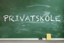 «Privatskole» på tavla