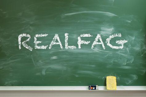 «Realfag» på tavla