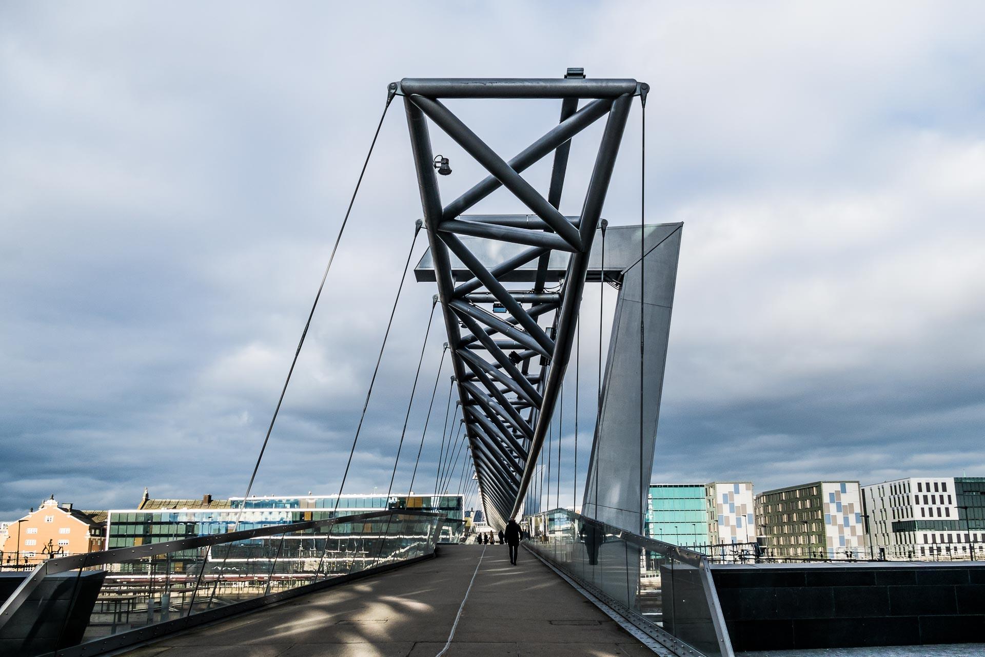 Akrobaten er en gangbro over sporområdet ved Oslo Sentralstasjon som forbinder områdene Grønland og Bjørvika som en del av Stasjonsallmenningen.