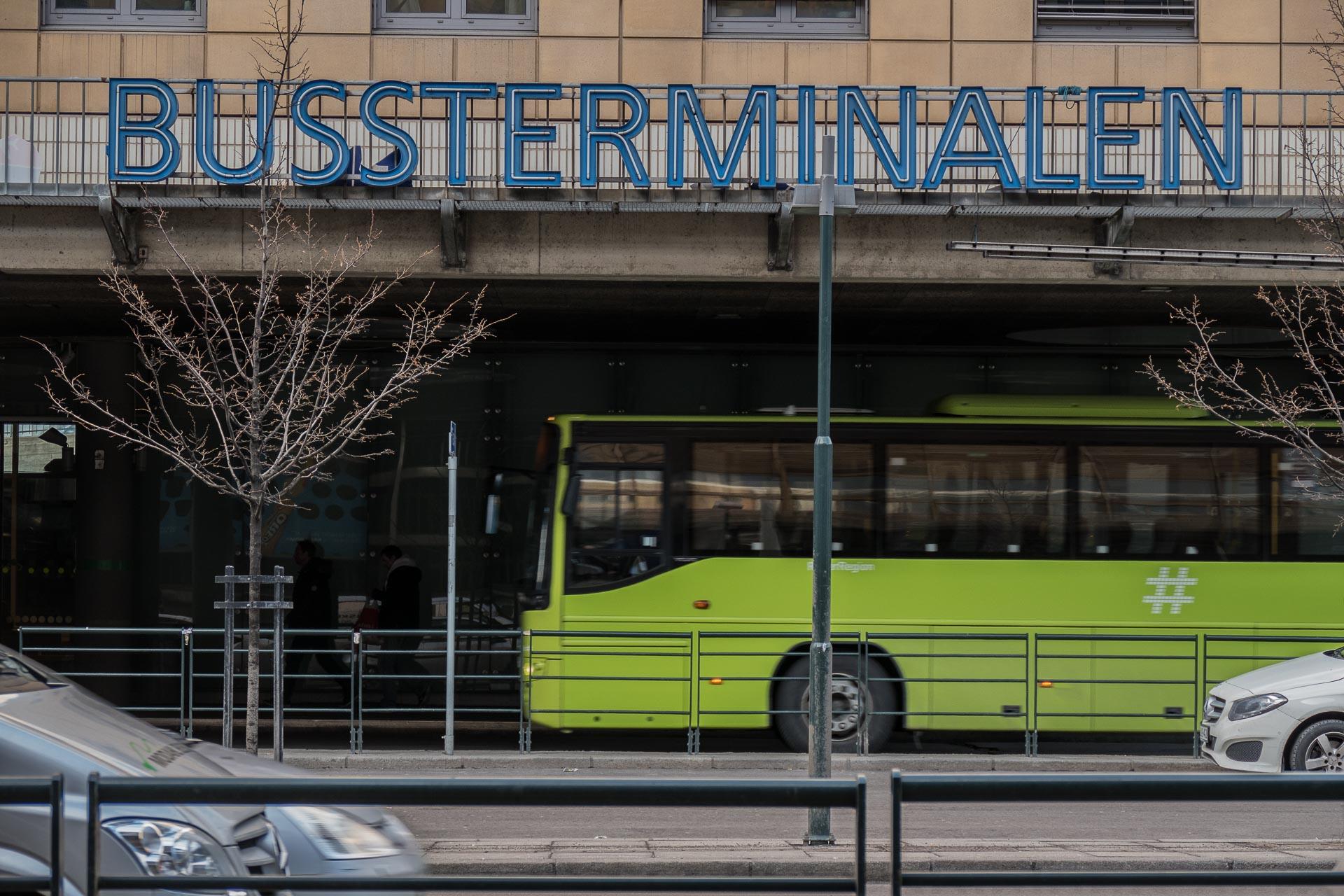 Oslo Bussterminal er avreise- og ankomststasjon for langdistansebusser til og fra Oslo, samt avreisestasjon for de fleste busser fra Oslo til Akershus.