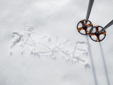 Påske i snøen