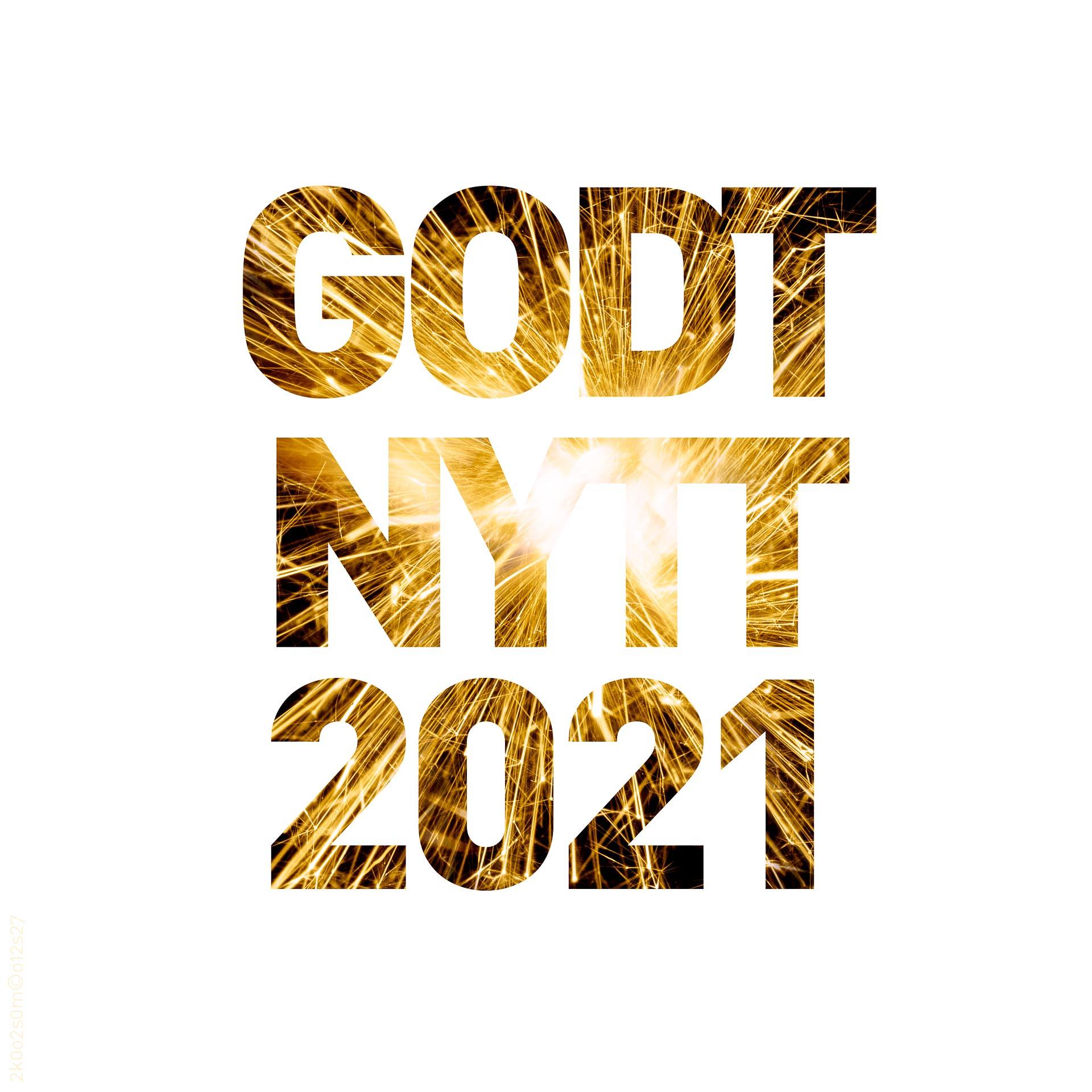 Godt nytt 2021 (kvadratisk)