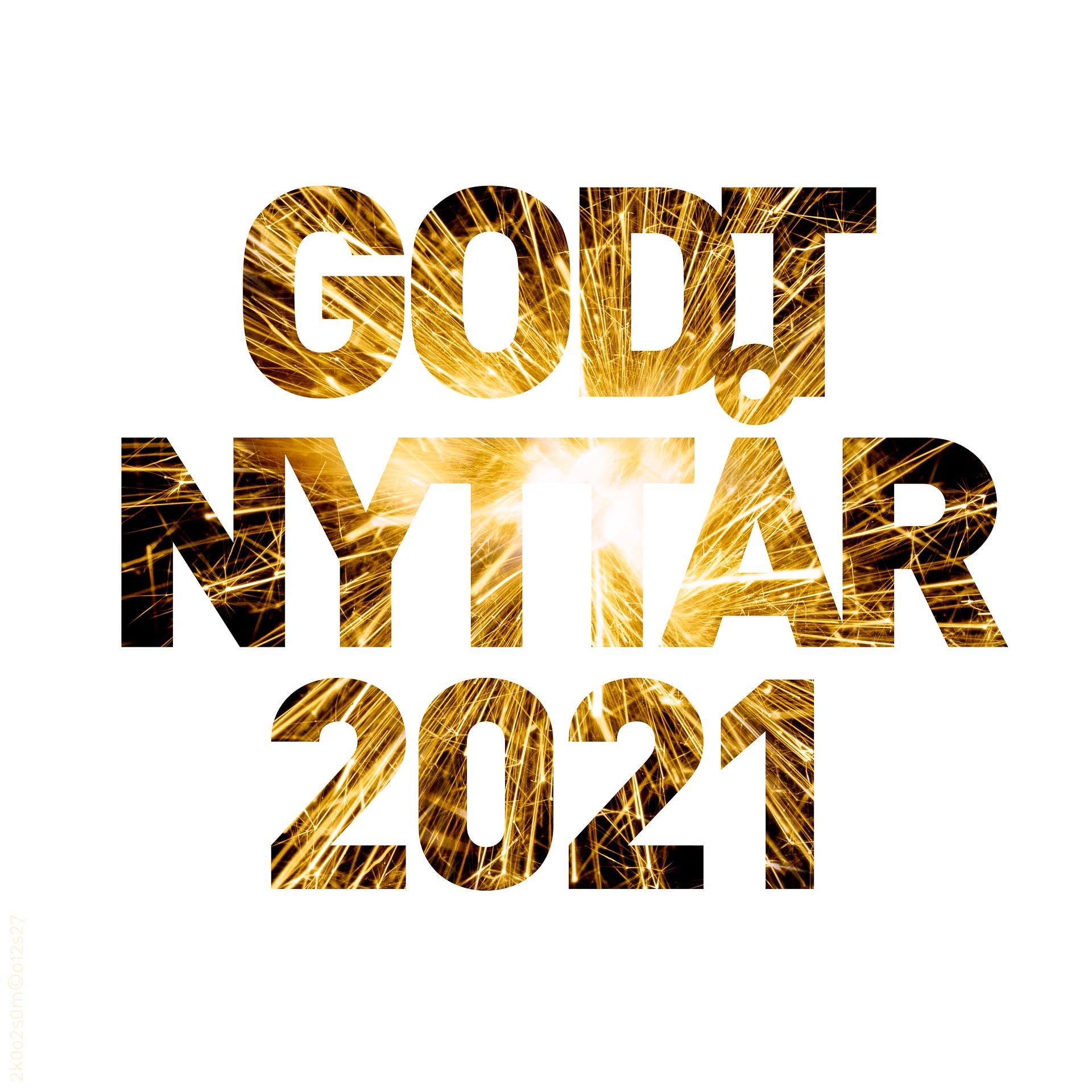 Godt nyttår 2021 (kvadratisk)