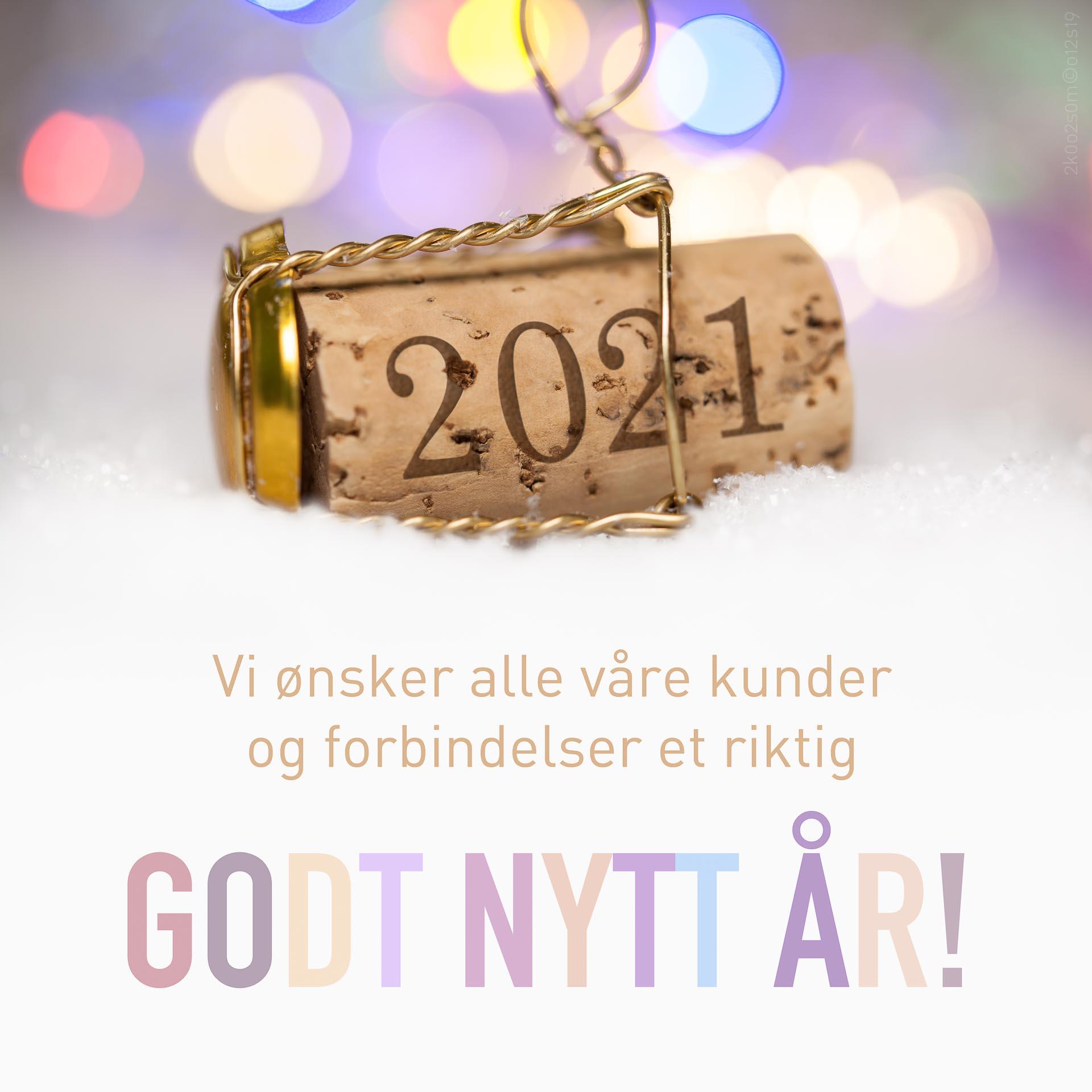 Godt nytt år 2021!
