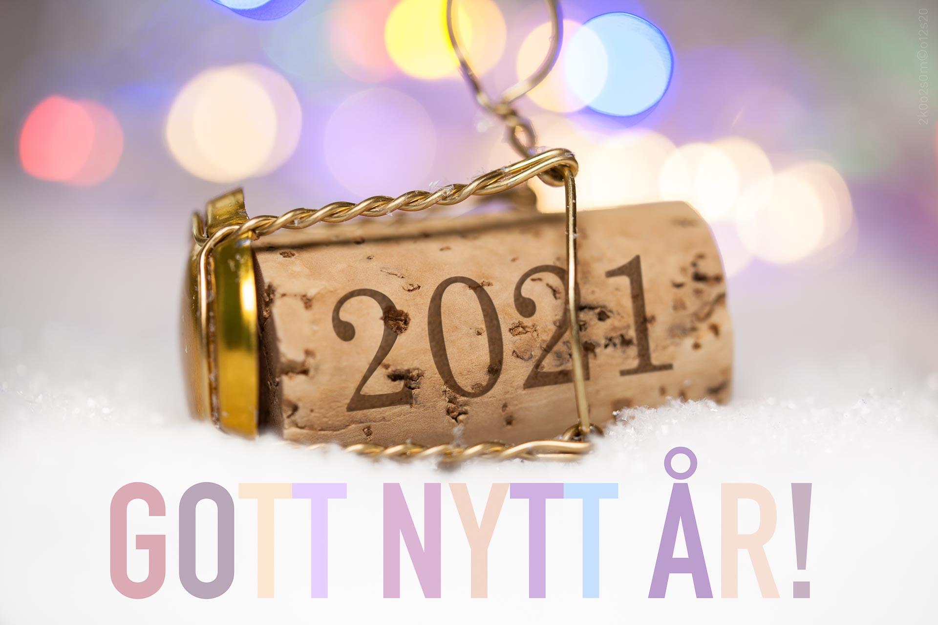 Gott nytt år 2021! (svensk)
