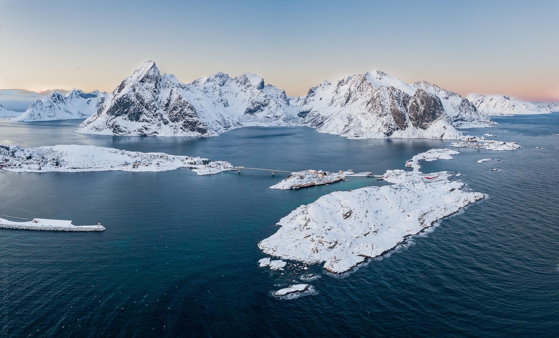 Reinefjorden aerial