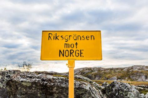 Riksgränsen mot Norge
