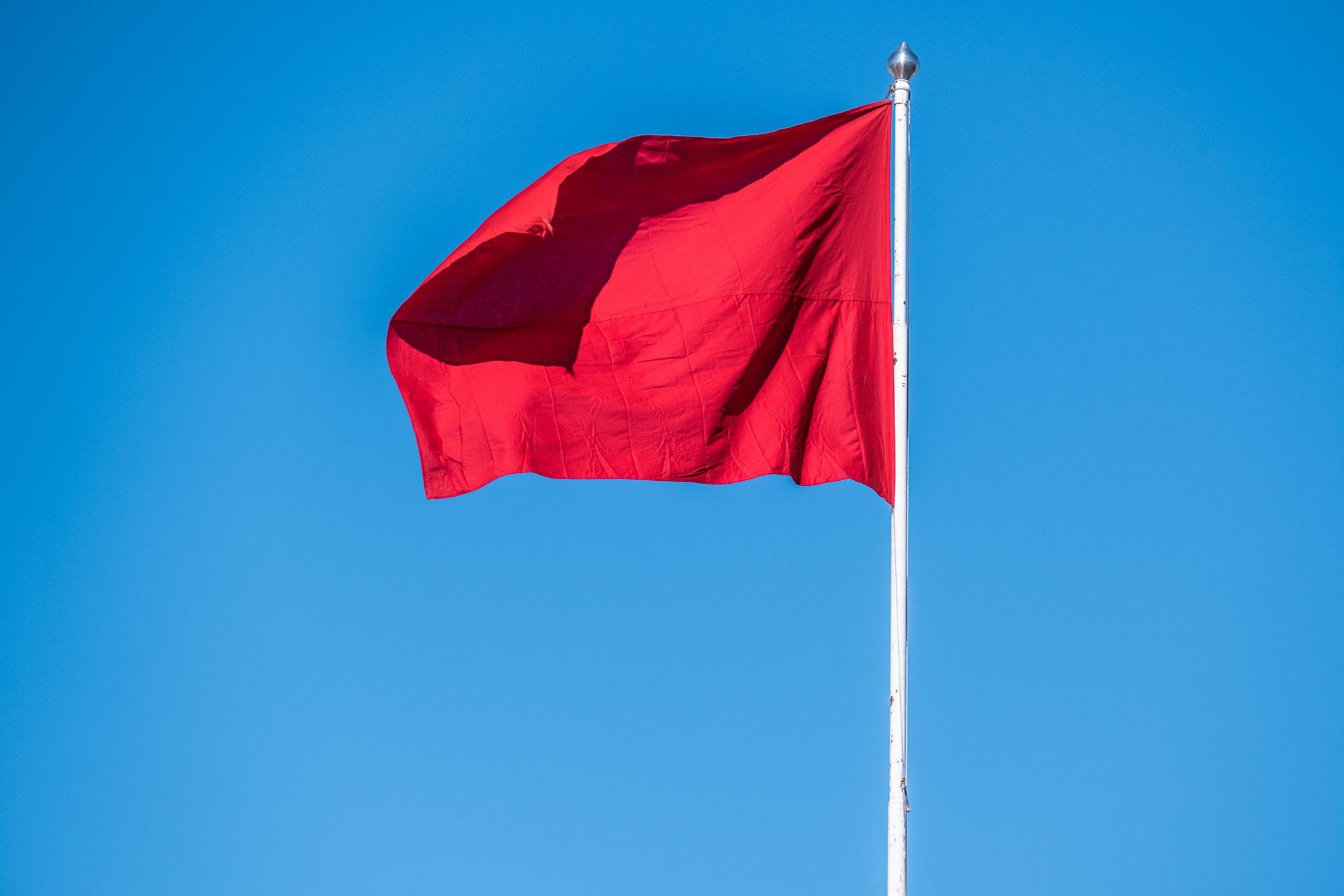 Røde flagg på dating sites