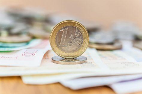 Euro mot norsk krone